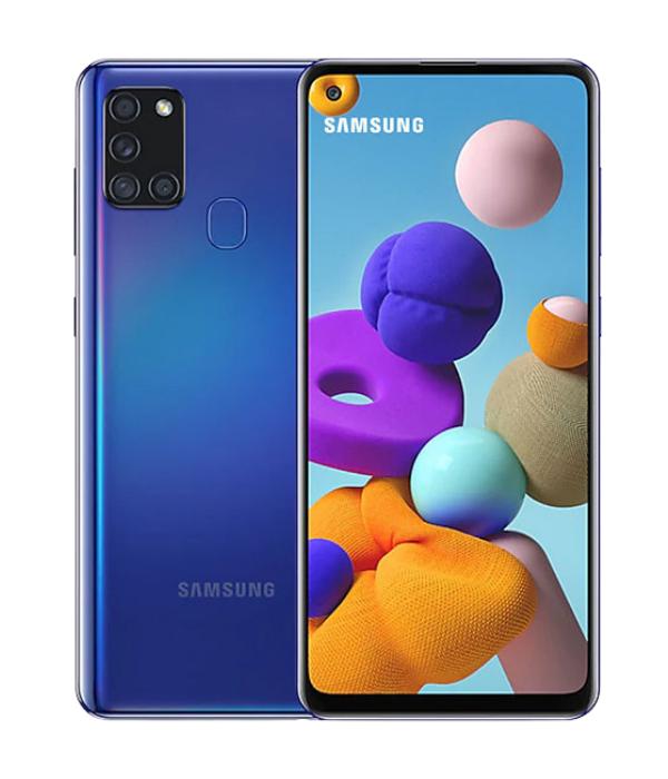 SAMSUNG GALAXY A21s_BLUE_Centralcom